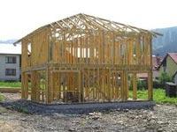Каркасное строительство деревянных
